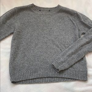 💛NWOT brandy melville gray sweater